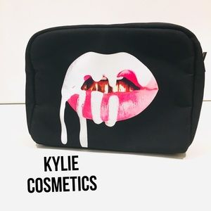 Kylie cosmetics limited edition birthday bag black